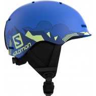 SALOMON CASCO GROM POP BLUE MAT